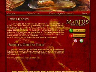 Thumbnail do site Marius Degustare