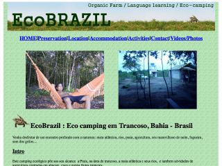 Thumbnail do site Ecobrasil - Eco Camping
