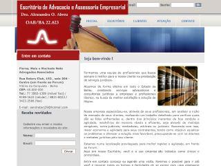 Thumbnail do site Flores, Maia e Machado Neto Advogados Associados
