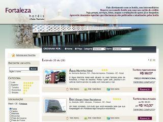 Thumbnail do site Hotéis Fortaleza - Reservas Online