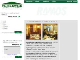 Thumbnail do site Ramos Arraial Negócios Imobiliários