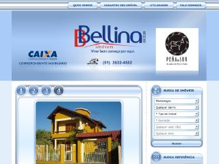 Thumbnail do site Imobiliária Bellina Imóveis Ltda.