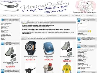 Thumbnail do site Vitrine Oakley