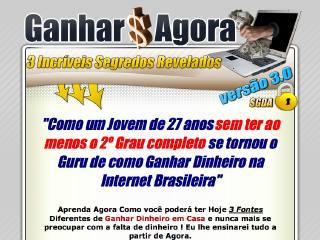 Thumbnail do site Ganhar dinheiro com a internet - curso completo