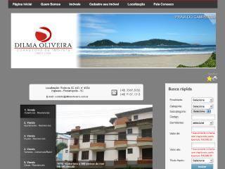 Thumbnail do site Dilma Oliveira - Corretora de Imóveis