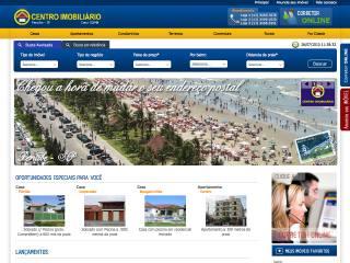 Thumbnail do site Centro Imobiliário