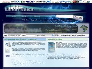 Thumbnail do site Linformática
