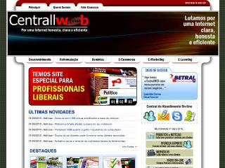 Thumbnail do site CentrallWeb