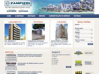 Thumbnail do site Zampieri Imóveis