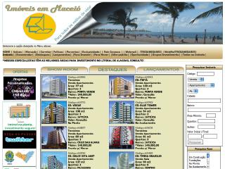Thumbnail do site Imóveis em Maceió