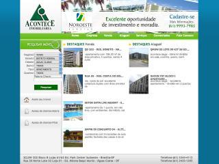 Thumbnail do site Acontece Imobiliária