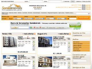 Thumbnail do site Sonia Imóveis