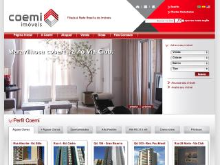 Thumbnail do site Coemi Imóveis