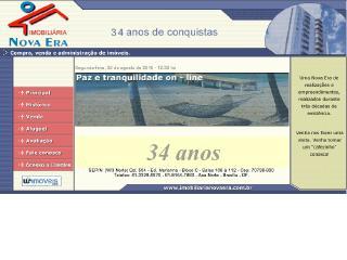 Thumbnail do site Imobiliária Nova Era