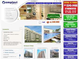 Thumbnail do site Emplavi Realizações Imobiliárias
