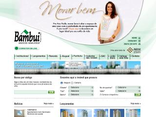Thumbnail do site Bambui Negócios Imobiliários
