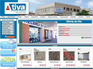 Thumbnail do site Ativa Virtual - Assessoria Imobiliária