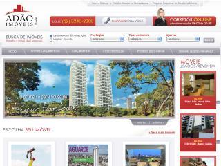 Thumbnail do site Adão Imóveis