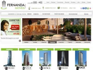 Thumbnail do site Fernanda Imóveis