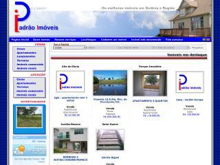 Thumbnail do site Padrão Empreendimentos Imobiliários