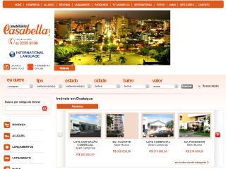 Thumbnail do site Imobiliária Casabella