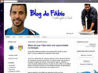 Thumbnail do site Blog do Fábio - O Melhor Goleiro do Brasil