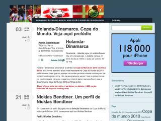 Thumbnail do site Seleção Dinamarca