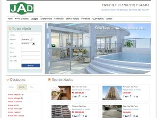 Thumbnail do site Imobiliária Jad