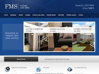Thumbnail do site FMS Imóveis