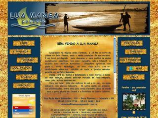 Thumbnail do site Lua Mansa Pousada