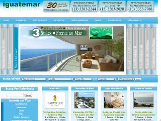 Thumbnail do site Iguatemar Imóveis