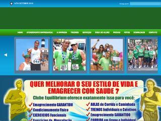 Thumbnail do site Clube Equilibrium - Corrida e Caminhada