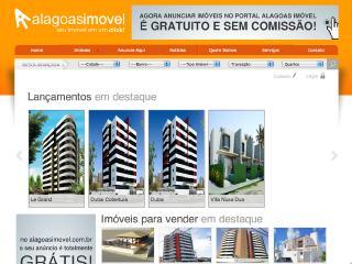 Thumbnail do site Alagoas Imóvel   Venda e Aluguel em Maceió-AL