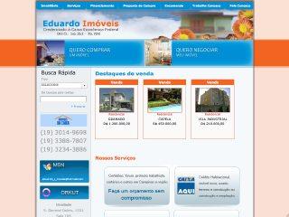 Thumbnail do site Eduardo Imóveis