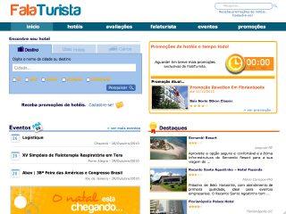 Thumbnail do site FalaTurista - Hotéis Baratos no Brasil