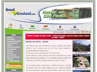 Thumbnail do site Turismo em Bahia - Brasil Contact