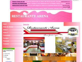 Thumbnail do site Restaurante Arena