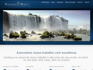 Thumbnail do site Stormoski & Martins Advogados