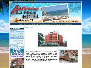 Thumbnail do site Astúrias Praia Hotel