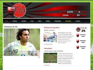 Thumbnail do site Escolinha do Flamengo