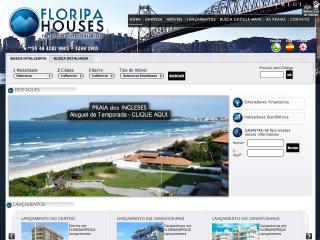 Thumbnail do site Floripa Houses- Negócios Imobiliários