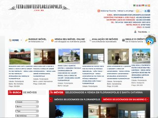 Thumbnail do site Venda Imóveis Florianópolis