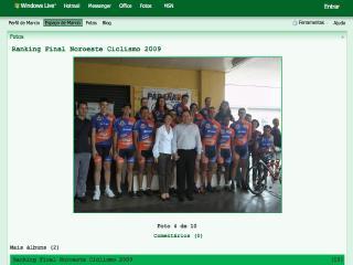 Thumbnail do site Ranking Noroeste Ciclismo