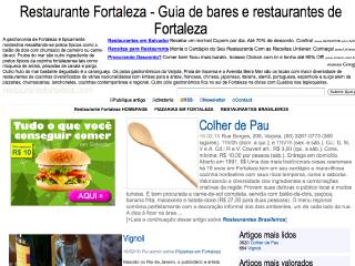 Thumbnail do site Restaurante Fortaleza