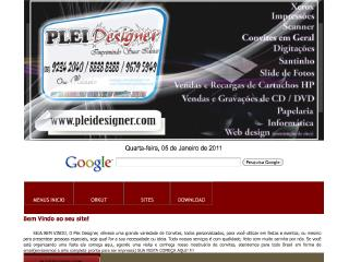 Thumbnail do site Plei Designer - Convites