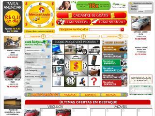 Thumbnail do site Mercado Usado