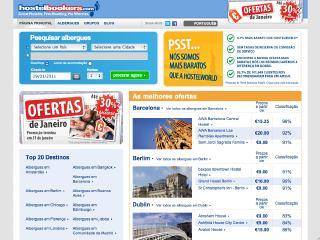 Thumbnail do site HostelBookers - Albergues & Pousadas da Juventude