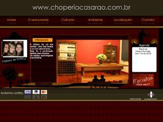 Thumbnail do site Restaurante e Choperia Casarão