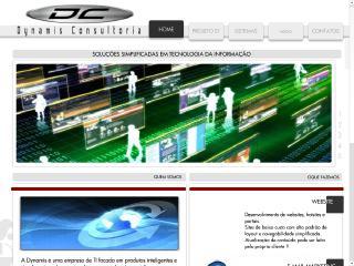 Thumbnail do site Dynamis Consultoria