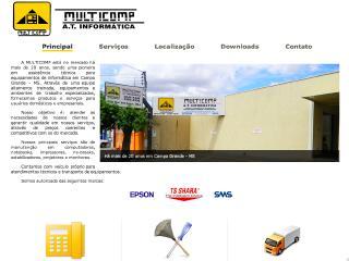 Thumbnail do site MULTICOMP - Assistência Técnica em Informática